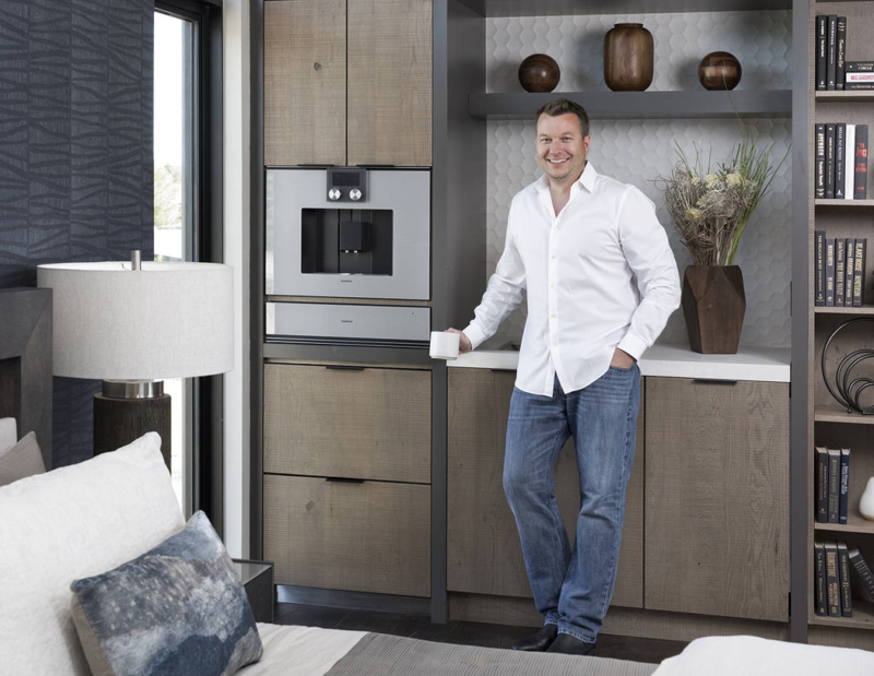 Michael Gardner at 2019 New American Remodel luxury home